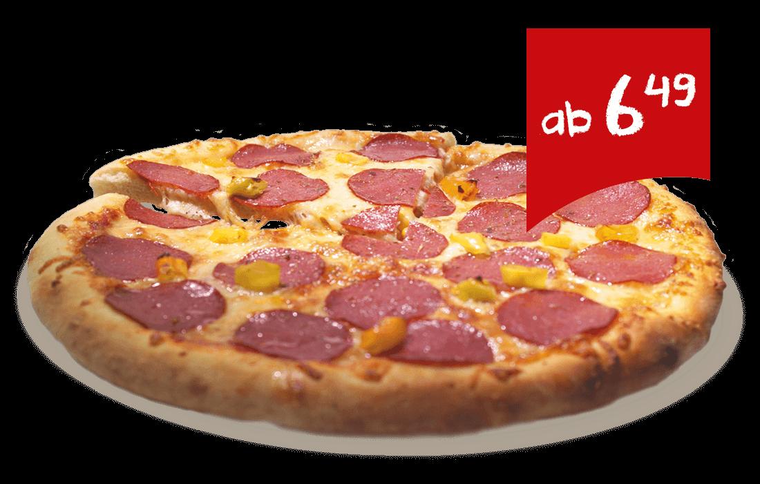 Pizza ab 6,49