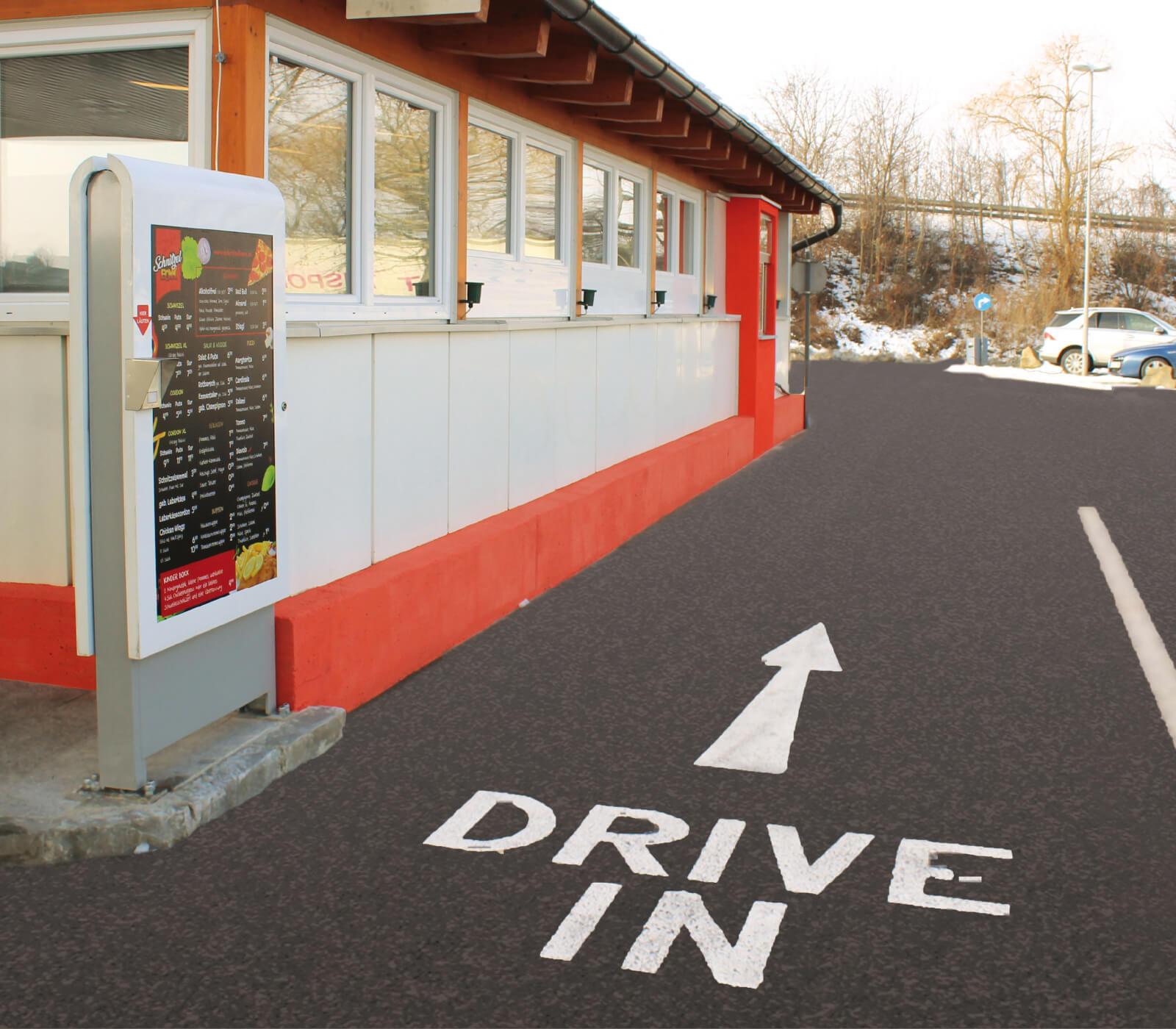 Schnitzelboxx Drive in
